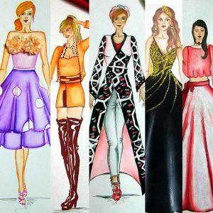 دوره طراحی لباس